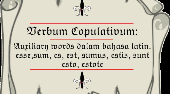 Verbum Copulativum: Auxiliary Words