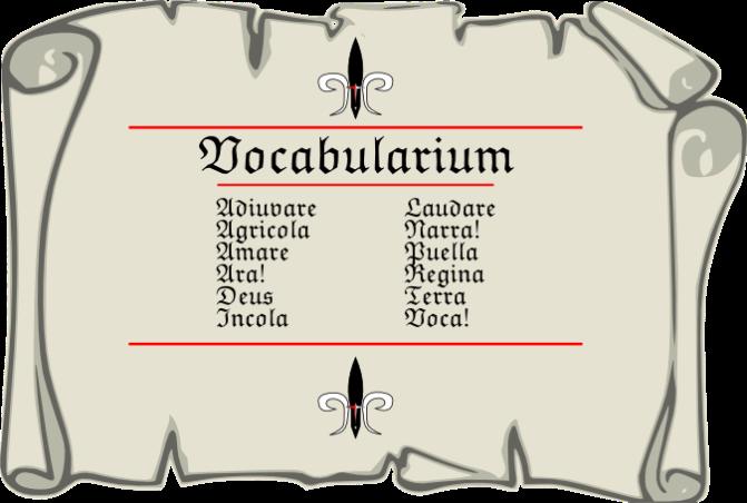 Vocabularium Pars Quarta
