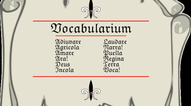Vocabularium Pars Prima