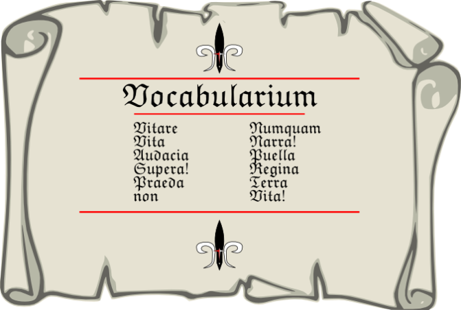 Vocabularium Pars Quinta